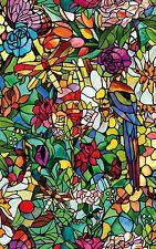 d-c-fix® 'Stained Glass' Tulia Self Adhesive Window Film 45cm x 2m