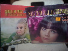 2 sealed records by The Mexicali Brass Michelle & Zorba The Greek Crown Records