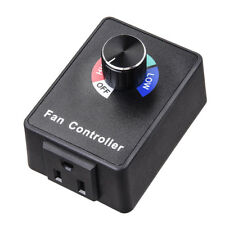 Variable Fan Speed Controller Air Blower Duct Inline Exhaust Booster Hydroponics