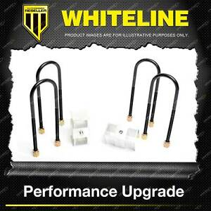 """Whiteline Rear 2.5"""" Lowering Block - Kit for Ford Courier PA PC PD PE PF PG PH"""