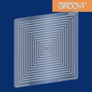 Groovi Plate A5 Square Square Nested