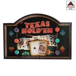 Quadro in legno cm 60x40 texas holder arredamento locale bar pub vintage