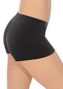 girls gymnastics shorts, Black velour shorts, dance shorts, velvet short