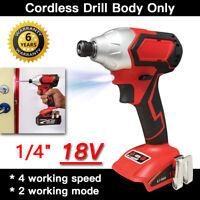 "For Makita 18V 1/4"" Cordless Drill Impact Driver Brushless DIY Power Bare Tool"