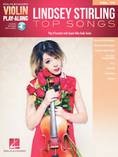 Lindsey Stirling: Top Songs - Violin Play-Along Songbook w/ Online Audio 284305
