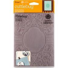 Cuttlebug 5X7 Embossing Folder By Anna Griffin - Baroque Vine Frame