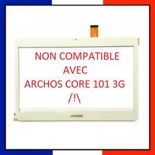 ECRAN VITRE TACTILE ARCHOS ACCESS 101 3G ORIGINE LOGO BLANC AC101AS3GV2