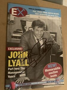 Signed EX Hammers Magazine - Billy Bonds West Ham WHU