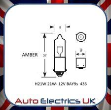 Amber Offset Halogène Projecteur Frein Indicateur brouillard phare de voiture ampoule 21 W H21W