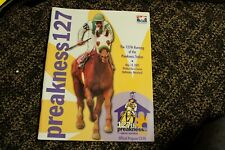 3 Preakness Programs  from 2002, 2005, 2006