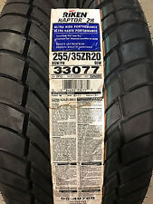 2 New 255 35 20 Riken Raptor ZR Tires