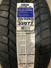 2 New 255 35 20 Riken Raptor ZR Tires