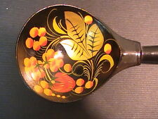 New Khohloma Russian Wooden Decorative Spoon