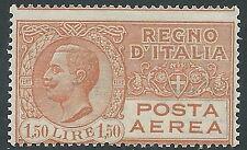 1926-28 REGNO POSTA AEREA 1,50 LIRE MNH ** - Y184