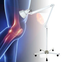 Infrared Red Heat Light Pain Relief Therapeutic Therapy Lamp IR Floor Stand
