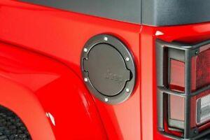 MOPAR Fuel Filler Door 2007-2018 Jeep Wrangler (JK) 2 Door Jeep Logo 82214789