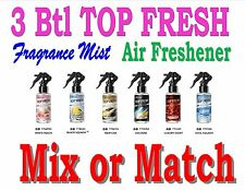 3 Btl Spray Treefrog TOP FRESH Fragrance Mist Air Freshener - MIX or MATCH