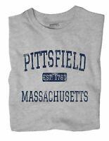 Pittsfield Massachusetts MA T-Shirt EST