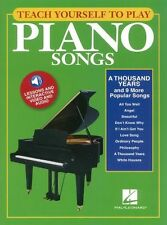 Teach Yourself To Play Piano Songs A Thousand Years MUSIC Book & Online Media