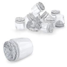sedie Misure disponibili: 24/mm e 28/mm di diametro Tappo di gomma nero o bianco per proteggere il pavimento Piedini in gomma antiscivolo per mobili tavoli made in Germany