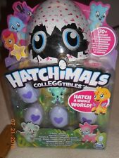 🎅 New Hatchimals Colleggtibles 4 pack + Bonus Hatch a whole World Christmas
