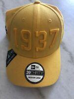 Los Angeles Rams New Era M/L Flex Hat Yellow Est 1937 Nfl Football