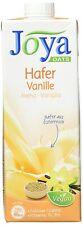 Hafermilch Joya Vanille Milchalternative Vegan Getränk 10x 1Liter MHD 25/08/20