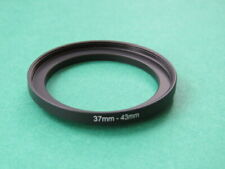 37-43 Stepping Step Up Male-Female Filter Ring Adapter 37mm-43mm