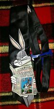 "NEW!! Looney Tunes Stamp Collection Bugs Bunny ""Bugs News"" Tie NWT"