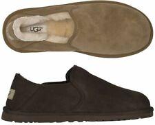 Ugg Men's Kenton 3010 Sheepskin Black & Chocolate Brown slipper Shoes