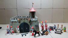Playmobil kleine Ritterburg mit Klicky Silber Ritter #691