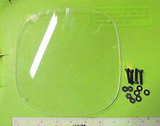 """Rickman NOS Honda Triumph BSA Metisse Fairing 7 7/8"""" x 7 7/8""""  Headlight Cover"""