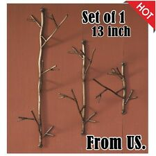 Wall Mount Coat Rack Hat Bag Hook Hanging Hanger Decor Branch Jackets Storage