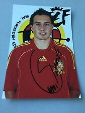SANTI CARZOLA  Europameister 2008/2012 Spanien  In-person signed  Foto 10 x 15 A