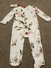 TED BAKER 12-18 MONTHS SLEEPSUIT BRAND NEW TAGS HARMONY BABYGROW BOW BUM🌸🎀