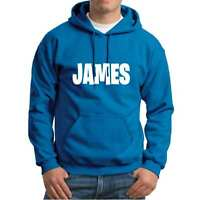 Personalised Your Name Family  Mens Hoodies