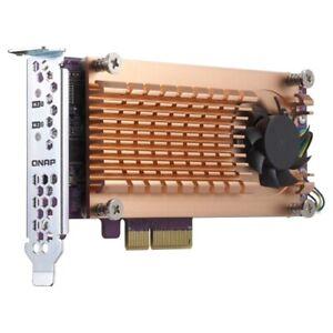 QNAP QM2-2S-220A Dual M.2 22110/2280 SATA SSD Expansion Card