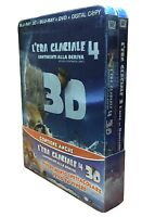 2 x Blu-ray 3D + Blu-ray 2D + Dvd **L'ERA GLACIALE 3 & 4** Combo Pack nuovo