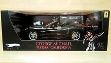 Ferrari California George Michael (2008) 1/18 Hot Wheels Elite. Very Rare!!!