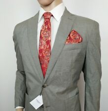 Hackett London Suit Jacket Cotton Silk Micro Houndstooth 42R IT 52R New RRP£400