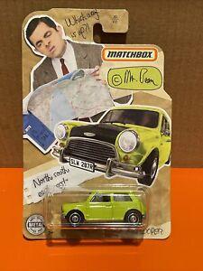 2020 Matchbox Mini Cooper Mr. Bean VHTF