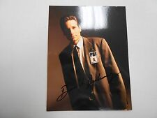 "SIGNED David Duchovony X-Files card. 5 3/4 x 7""! AWESOME, RARE AND LOW PRICED!"