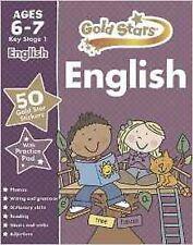 Étoiles d'or anglais kS1 6-7 (étoiles dorées Ks1 cahiers) with reward stickers