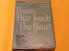Poems that Touch the Heart by A. L. Alexander SIGNED EDITION Poetry Prose Verse