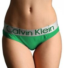 """GREEN Metallic Colored Letters Cotton Women's Brief Panty (Large 24"""" - 29"""")"""