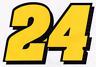 JEFF GORDON #24 Decal racing nascar 003