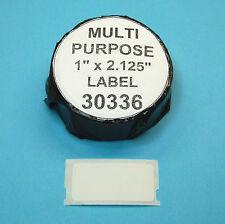 3 Rolls MULTIPURPOSE LABEL fit DYMO 30336 - BPA Free