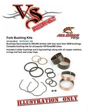 ALL BALLS Front Fork Bushing Kit Honda CR125R 90-91, CR250R 90-91, CR500R 90-91,