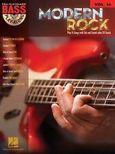 Bajo Guitarra ficha de Rock Moderno aprende a tocar música libro CD Korn Slipknot