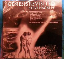 "STEVE HACKETT GENESIS RARE PROMO CD ""GENESIS REVISITED"" CARDBOARD"
